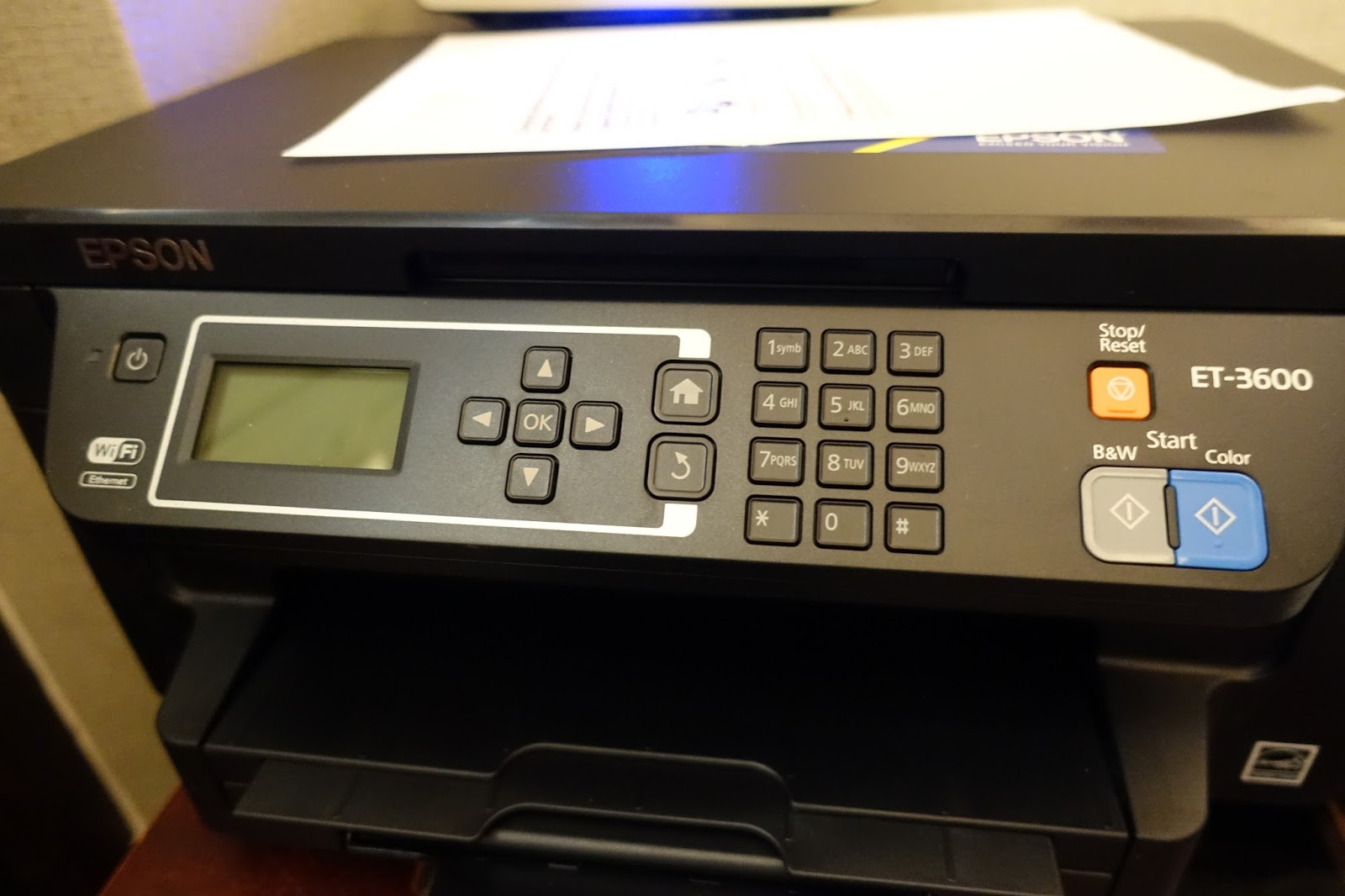 Epson Printer ET 3600 : review - This day I love