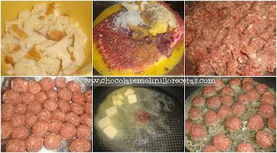 Albóndigas Suecas (en salsa bechamel)