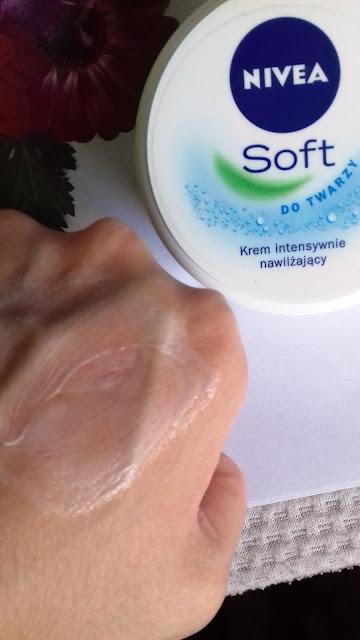 Nivea soft krem intensywnie nawilżający do twarzy