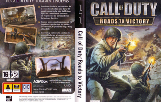 Bermain Game Call of Duty Roads To Victory