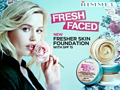 FIRST IMPRESSIONS! Rimmel Fresher Skin Foundation.