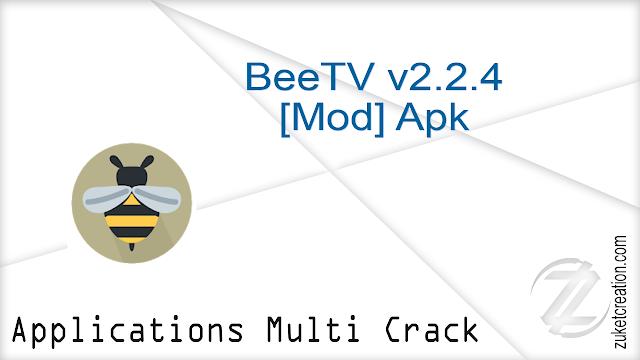 BeeTV v2.2.4 [Mod] Apk     |  15.3 MB