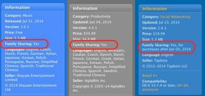 Apple Uji Fitur Family Sharing di App Store