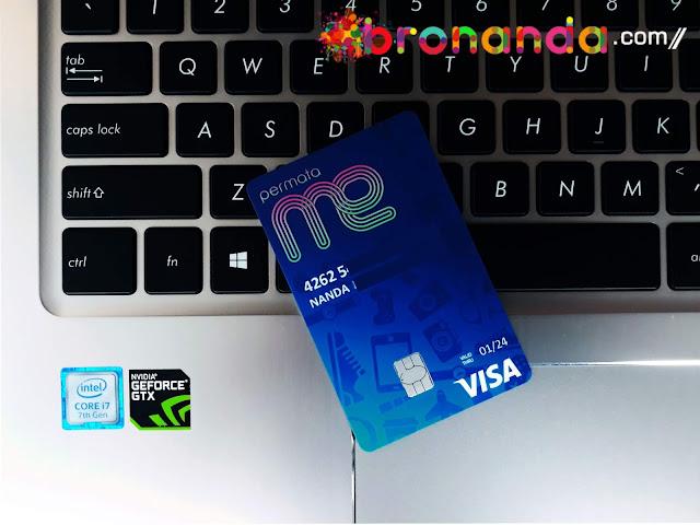 Bentuk Fisik Kartu ATM PermataME dari Permata Bank