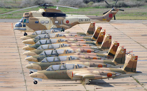 أهم صفقات سلاح الجو المغربي