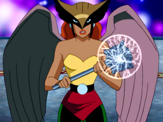 Piece of Cape: Hawkgirl is kind of Worthless