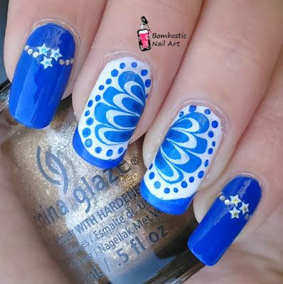 dry water marble nail art, diy nail art