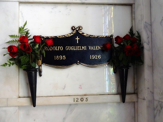 Hollywood Forever Cemetery Rudolph Valentino