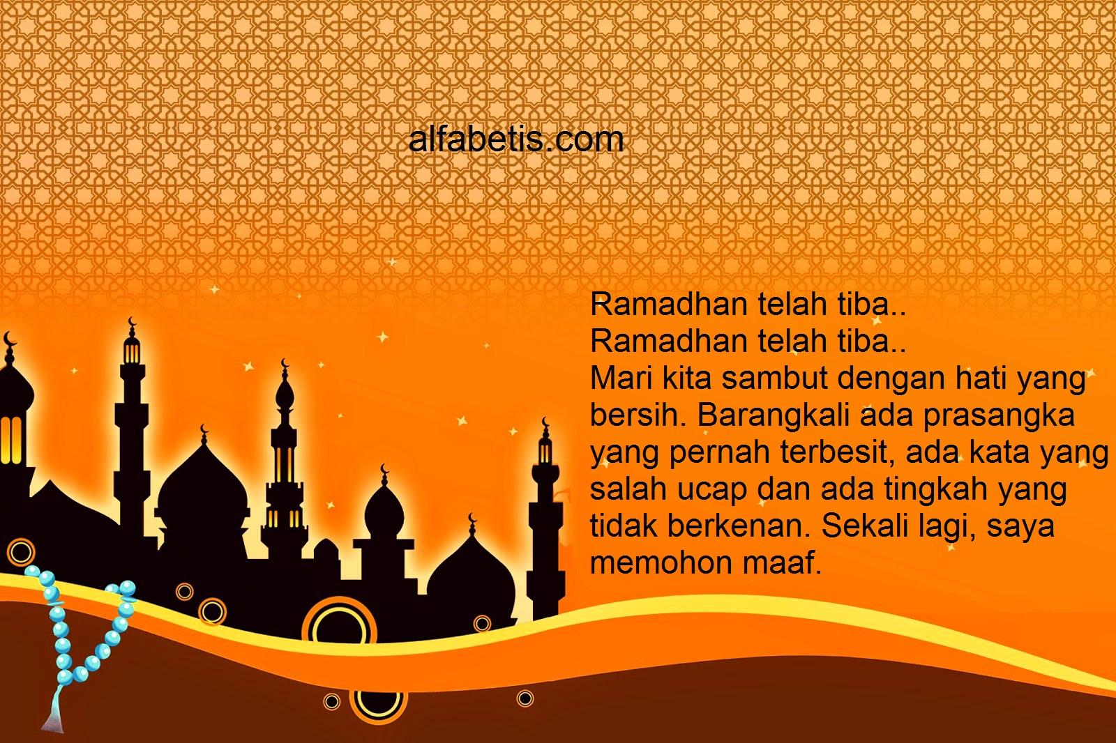Kartu Ucapan Marhaban Ya Ramadhan Terkenal
