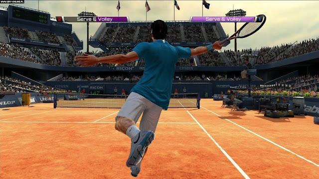 Virtua Tennis 4 PC Game Play