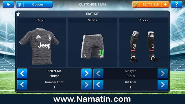 juventus fc kit dream league soccer goalkeeper