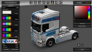 Wiek Spedition GmbH Skin for Scania RJL
