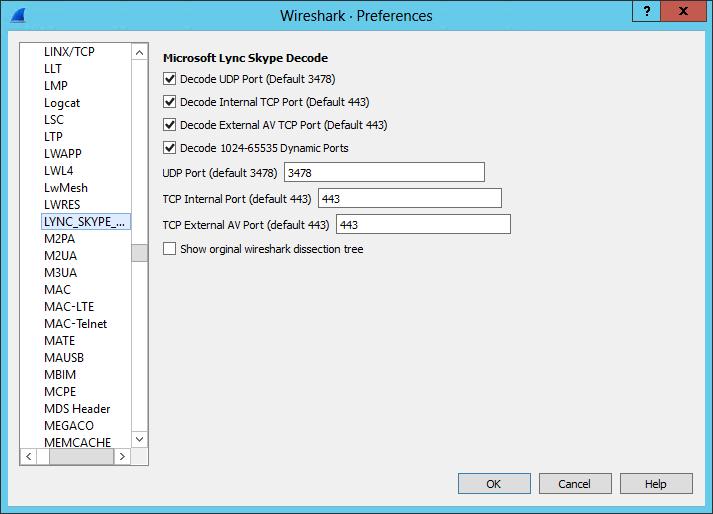 Microsoft Lync / Skype for Business Wireshark Plugin | My