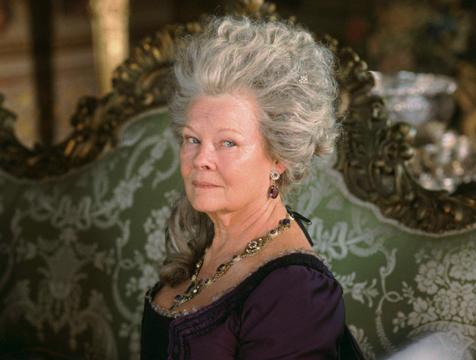 Lady Catherine de Bourgh (Judi Dench) en Orgullo y prejuicio - Cine de Escritor