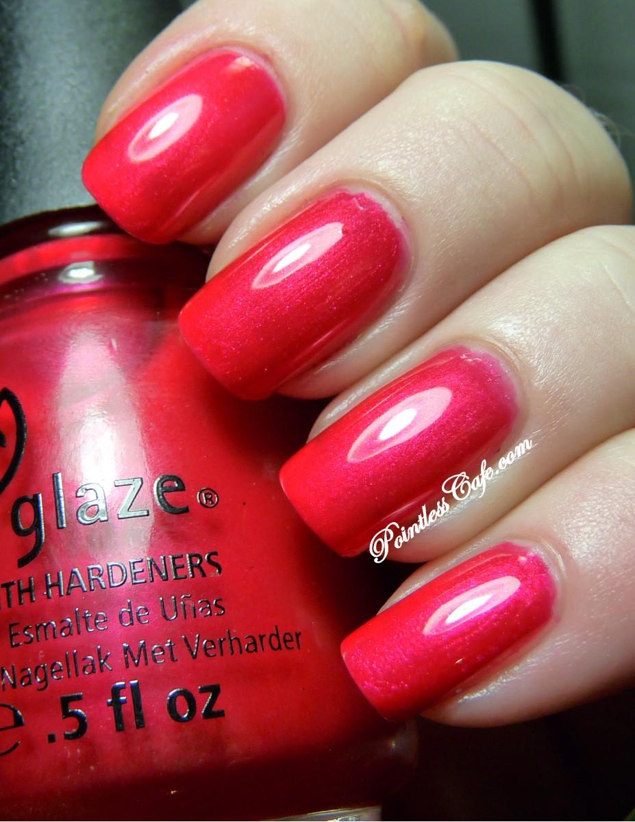 China Glaze Presenta Crakle Glaze: China Glaze Sangria - Swatches And Review