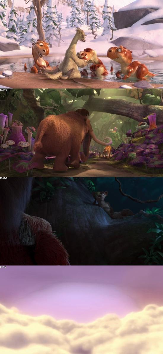 Ice Age - Dawn Of The Dinosaurs 2009 BluRay 720p 480p Dual Audio Hindi English Full Movie Download