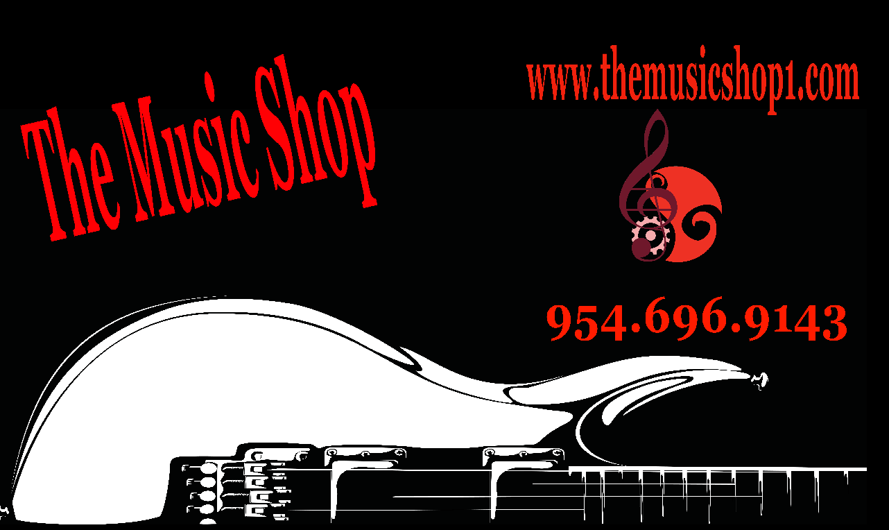 The Music Shop Banner | Banners.com