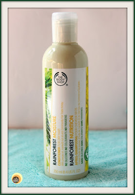THE BODY SHOP RAINFOREST MOISTURE CONDITIONER REVIEW ON NBAM