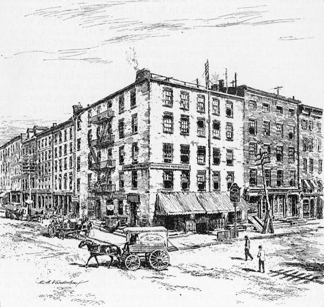 Fraunces Tavern in 19th Century