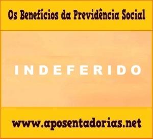 Previdência Social - Motivos para indeferir auxílio-doença.