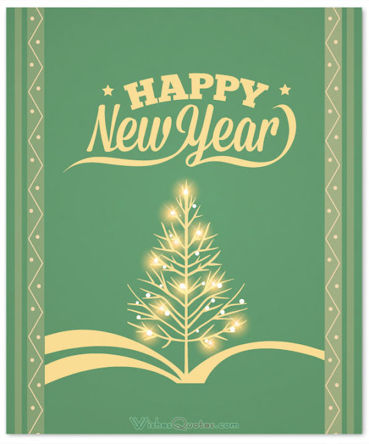Happy New Year Paper Cards
