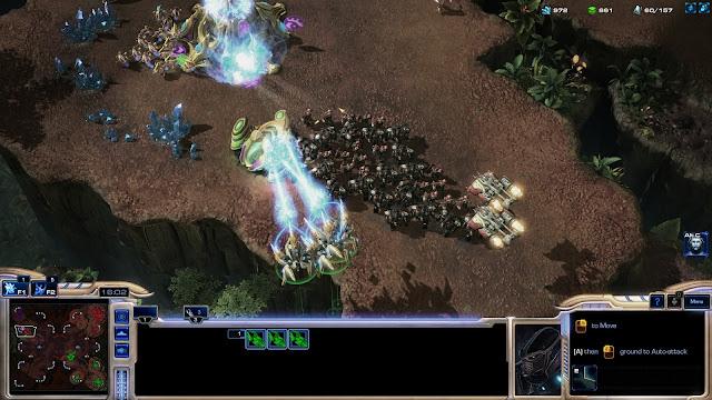 StarCraft 2 | Air Rush Tactic