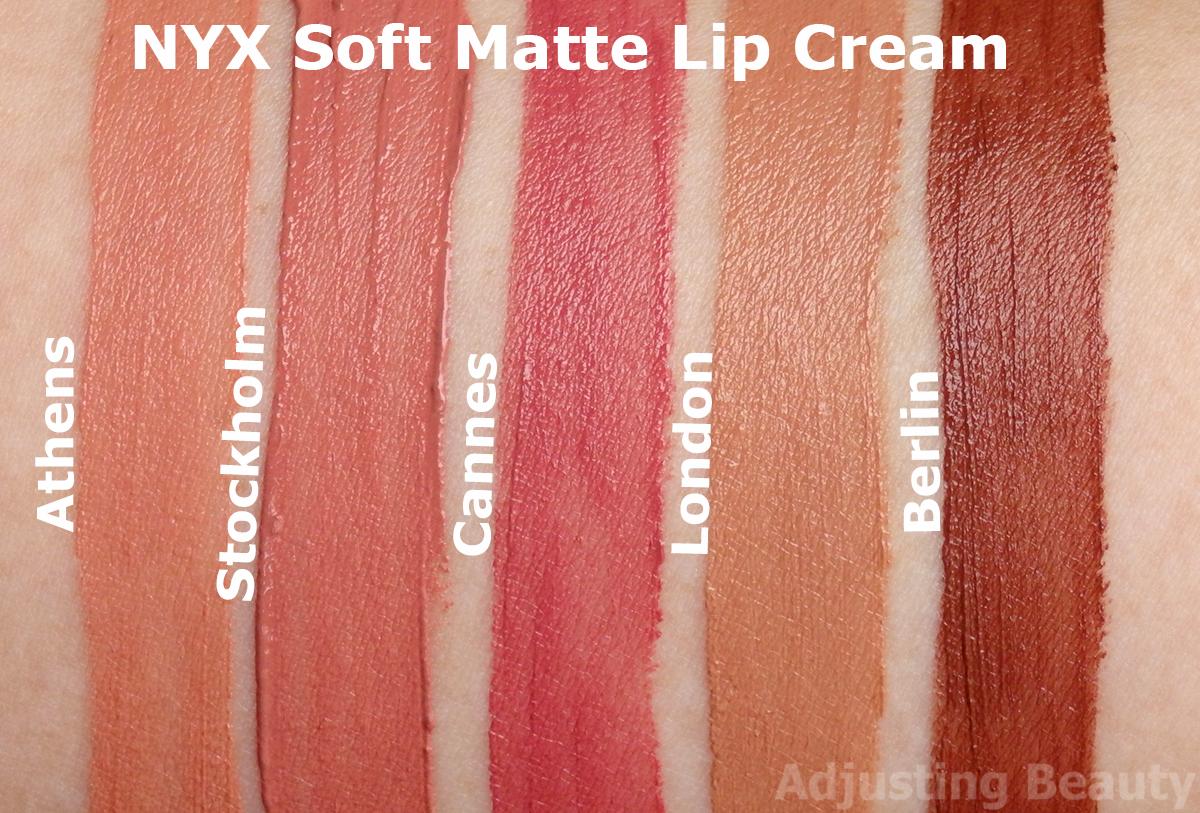 Review Nyx Soft Matte Lip Cream Berlin Adjusting Beauty