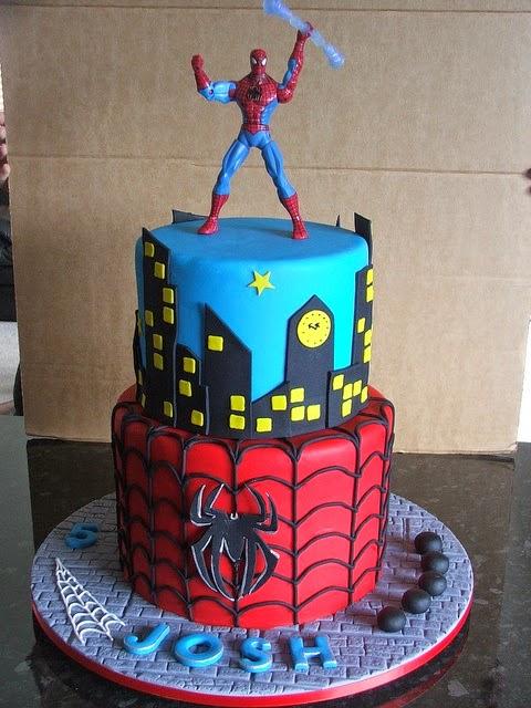 Decoraci n de fiestas infantiles de spiderman hombre for Cuartos decorados hombre arana