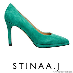 Princess Sofia wore Stinaa J Elsa Pumps