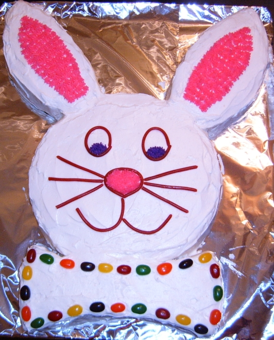 The Hollywood Gossip: Easter Bunny Cake Recipe Pictures