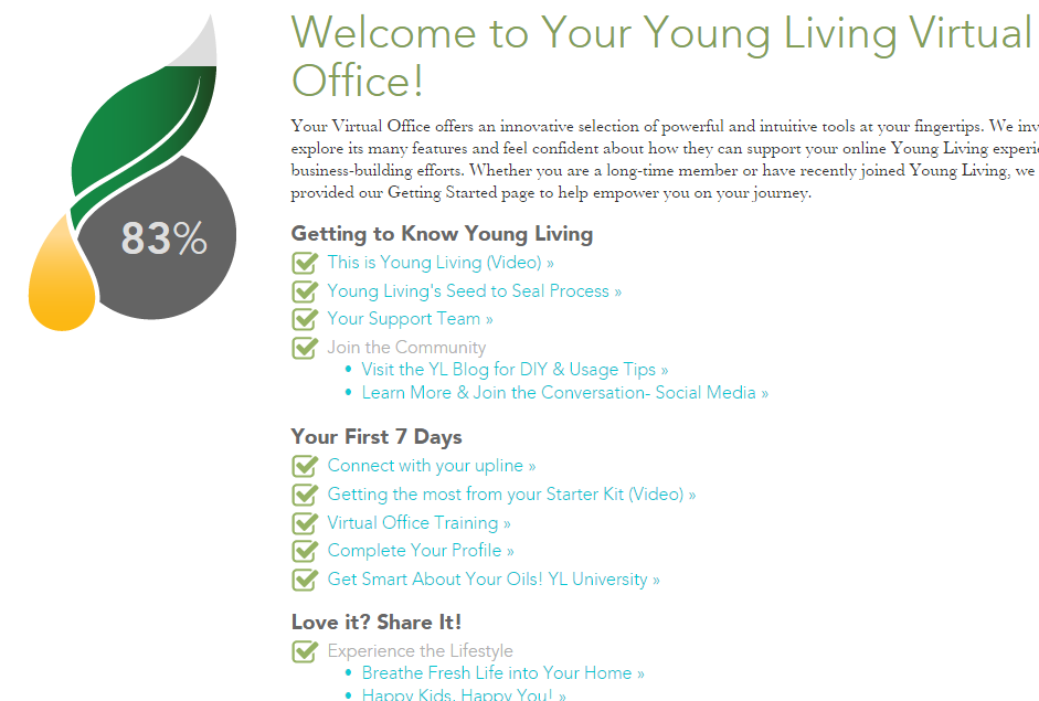 Young Living Virtual Office