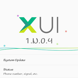 XUI Infinix Hot Note terbaru