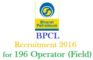 BPCL Recruitment 2016