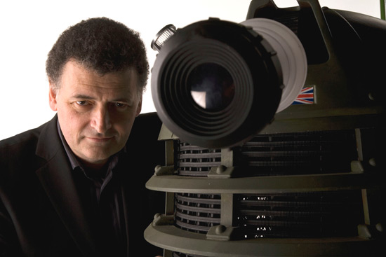 Steven Moffat Is Pissed!