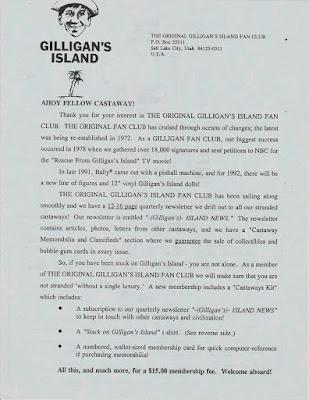 Island News fan club newsletter