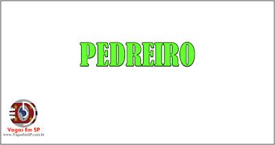 PEDREIRO