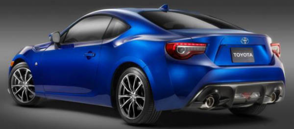 2018 Toyota GT86 Features