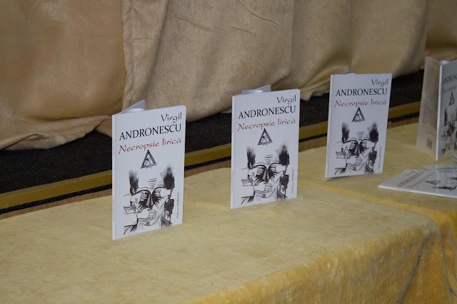 Cercul Militar Brăila, prezentarea cărții Necropsie lirică de Virgil Andronescu