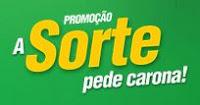 Promoção A Sorte pede Carona Divino Fogão promodivino.com.br