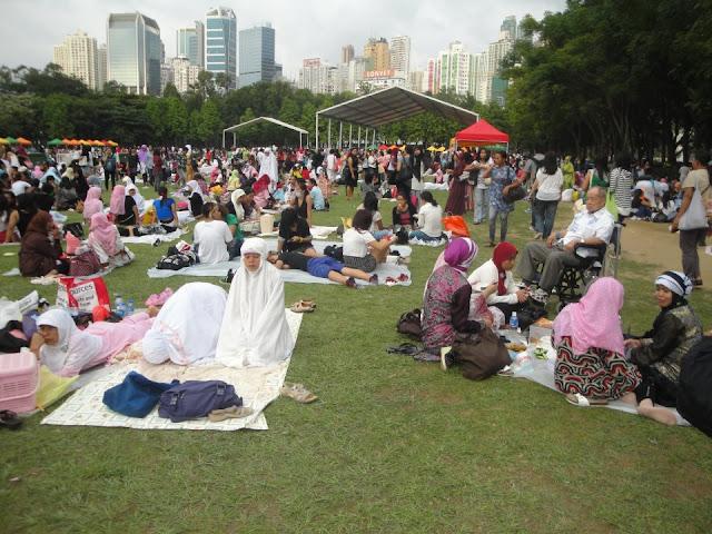 Ini Surat Ijin Untuk Ikut Shalat Idul Fitri dari KJRI Untuk BMI Hong Kong dan Jadwal Shalatnya
