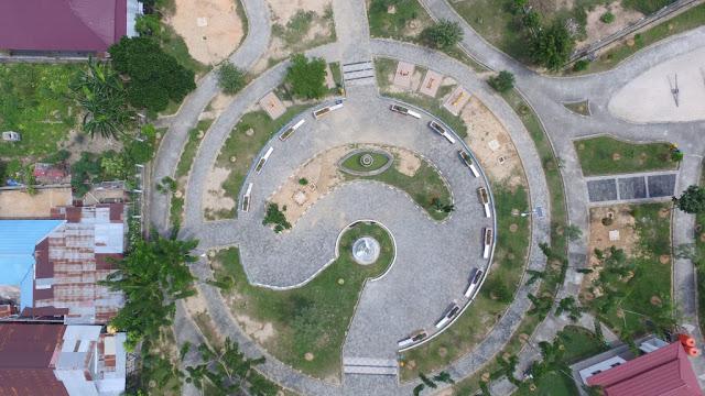 Heboh Simbol 'Mata Satu' di Taman Tanjung Laut, DPKPP akan Merenovasi Bentuknya