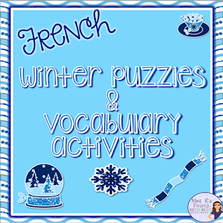Needsomethingfuntodojustbeforeorafterwinterbreak?Thissupplementalpacketincludesavocabularylist,puzzles,andvocabularyactivitiesthatareperfectforbeginners!