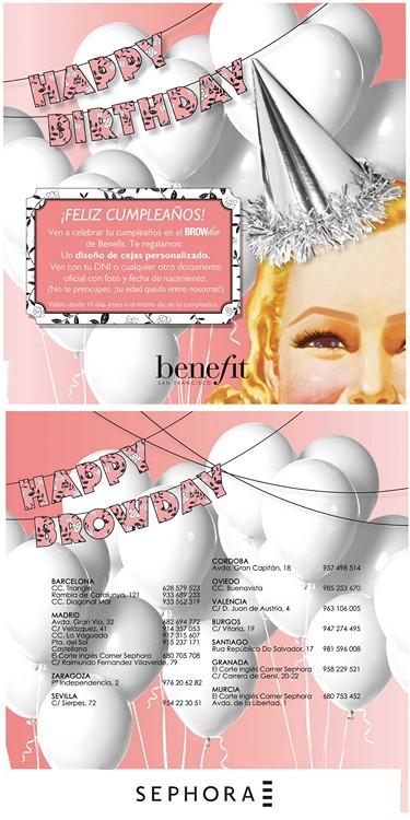 promoción cumpleaños