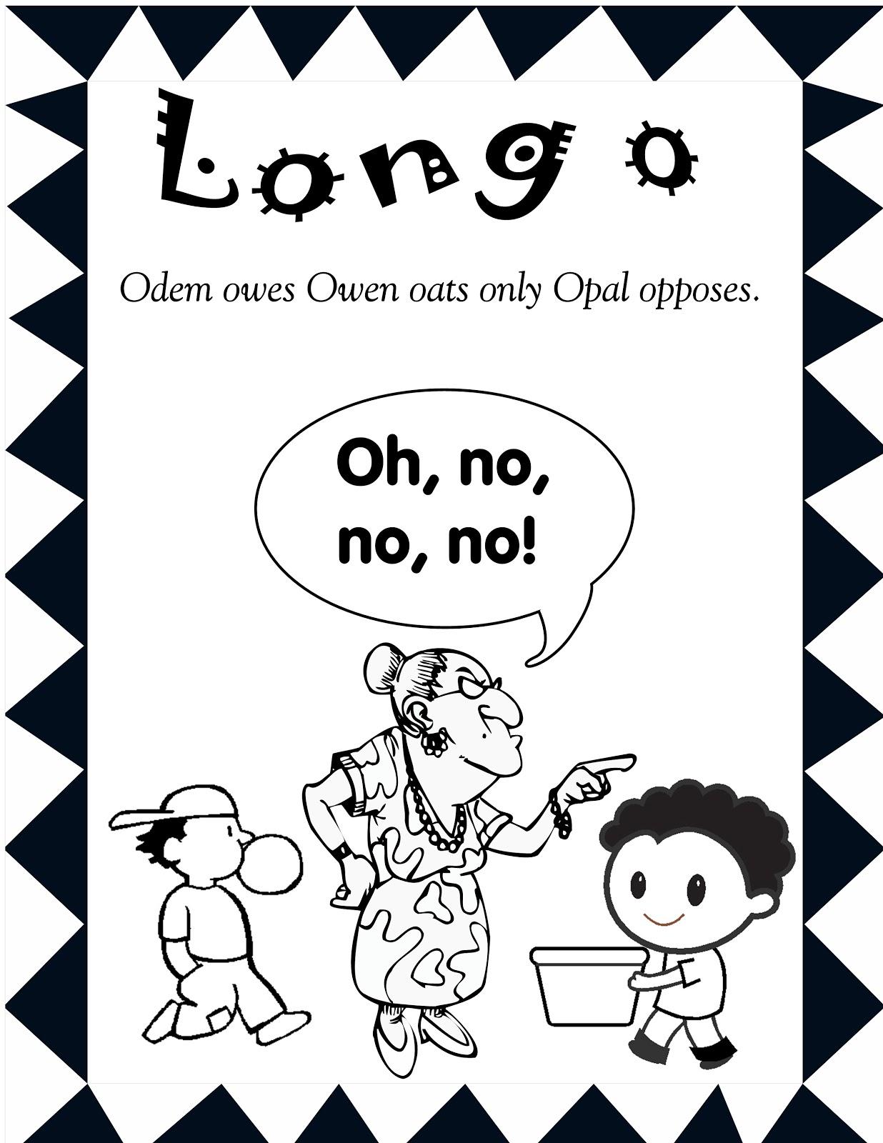 Long u coloring pages - Long E Coloring Page