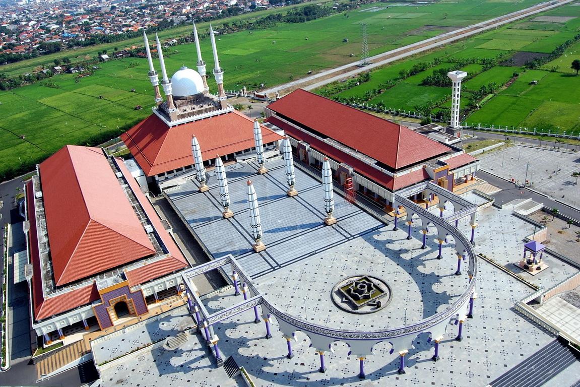 Rindu Masjid Masjid Agung Jawa Tengah MAJT