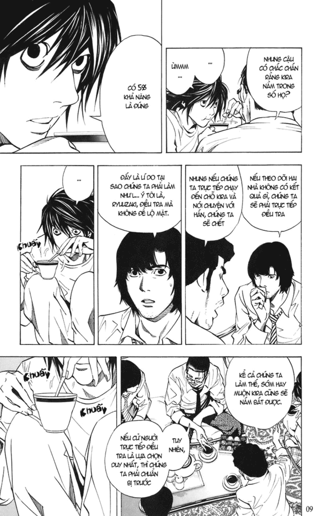 Death Note chapter 018 trang 10