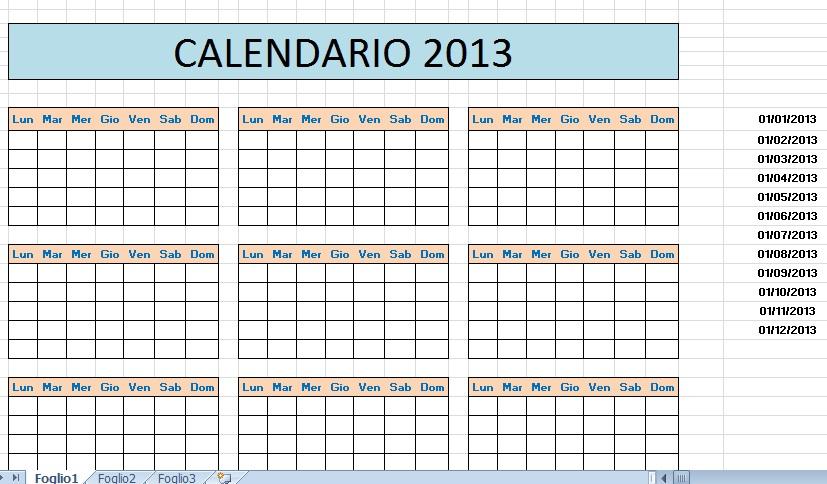 Calendario Su Excel.Calendario 2016 Excel Italiano Calendar August 2015 To