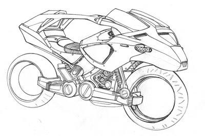Auto: Bike sketching