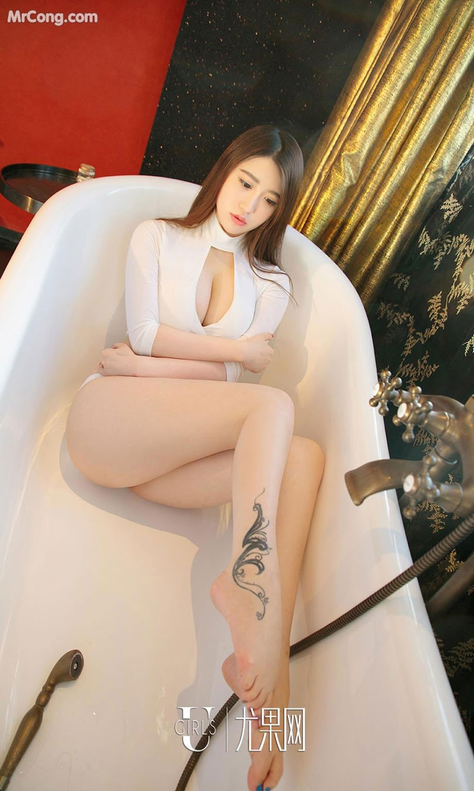 Image UGIRLS-Ai-You-Wu-App-No.964-Ai-Miao-MrCong.com-002 in post UGIRLS – Ai You Wu App No.964: Người mẫu Ai Miao (艾淼) (40 ảnh)