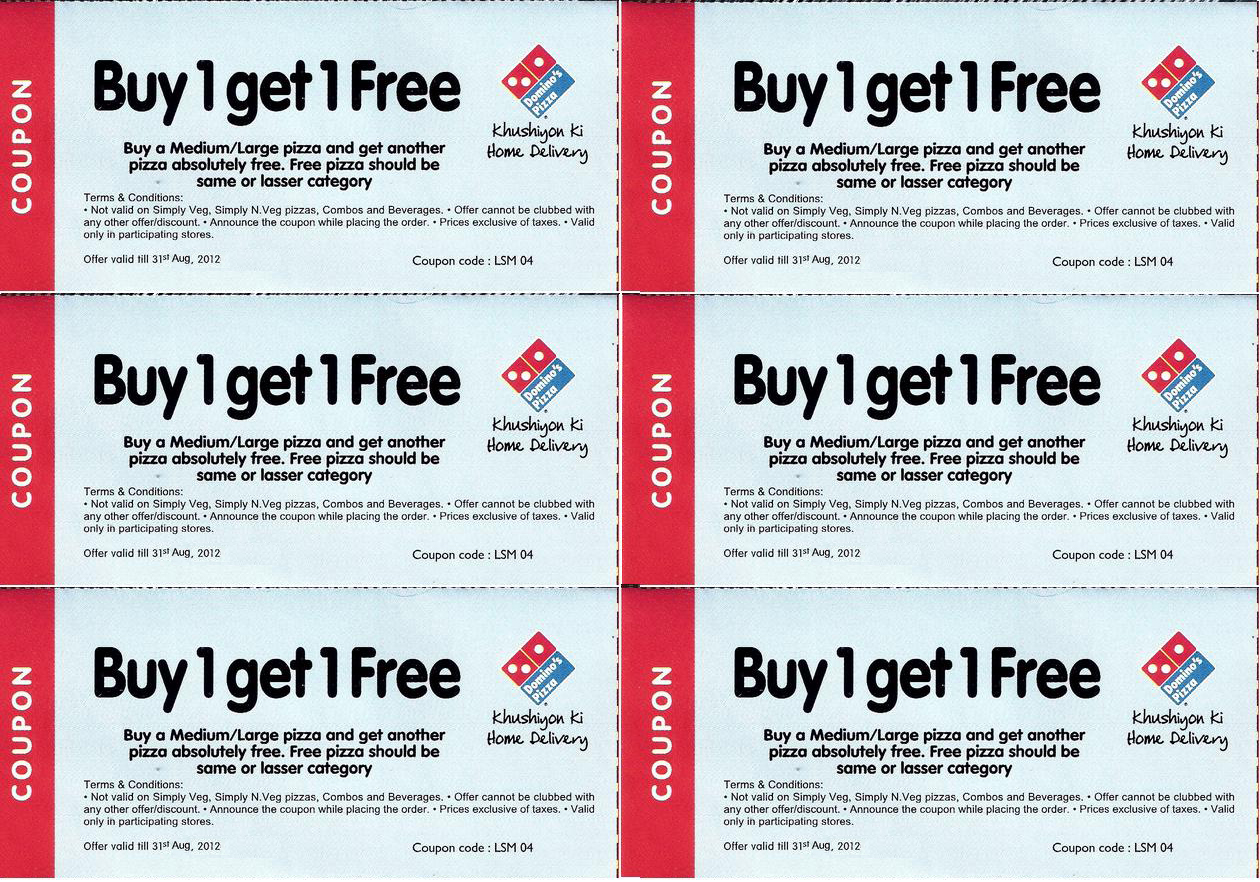 pasta coupon dominos